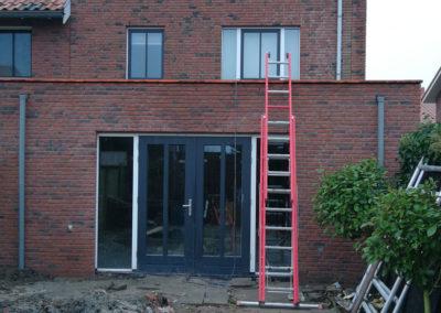 Aanbouw nieuwbouw